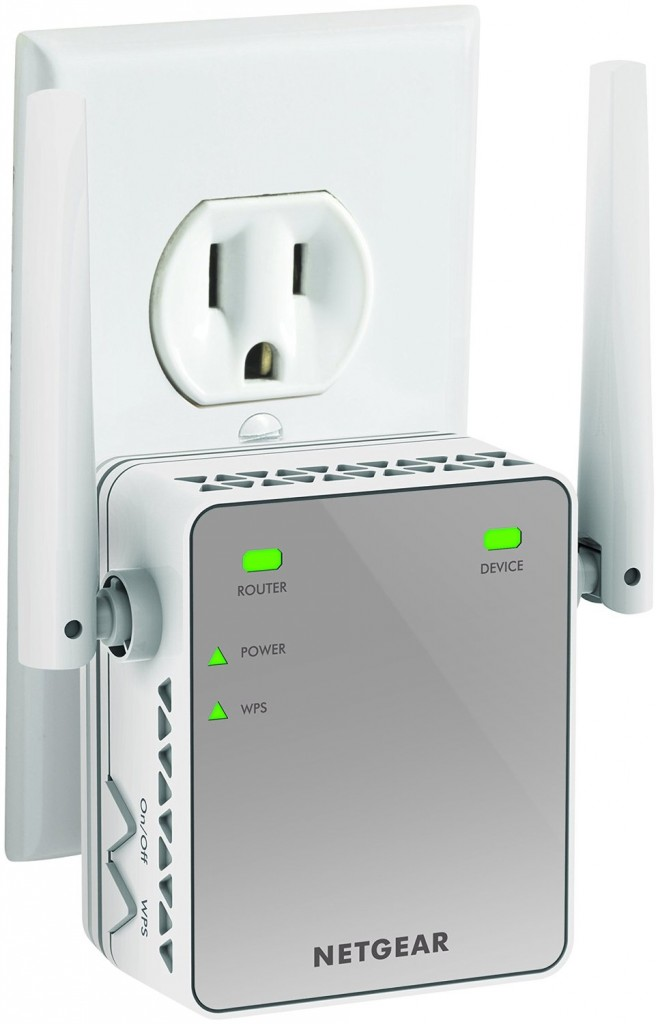 NETGEAR N300 Wi-Fi Range Extender, Essentials Edition (EX2700)