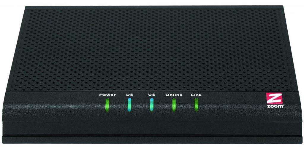 Zoom 343 Mbps DOCSIS 3.0 8X4 Cable Modem (Model 5341J)