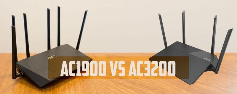 AC1900 VS AC3200