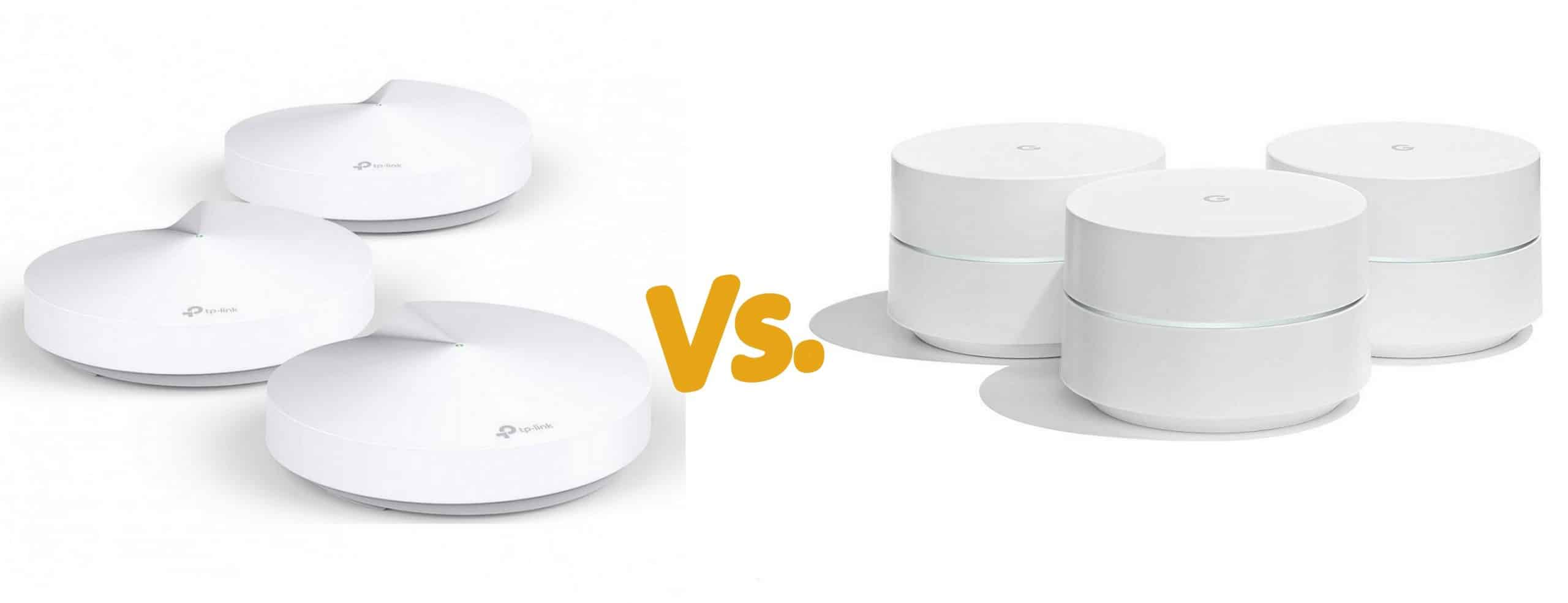 TP-Link Deco M5 vs. Google WiFi