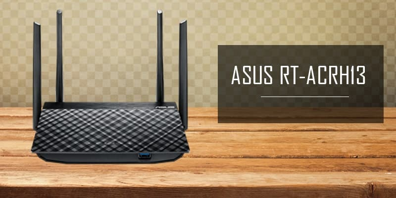 ASUS RT-ACRH13 AC1300 - router under $100