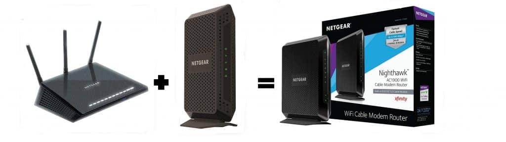 what is a cable modem router combo for spectrum