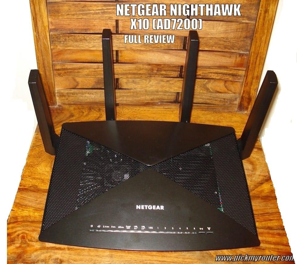 Netgear Nighthawk X10 AD7200 full review