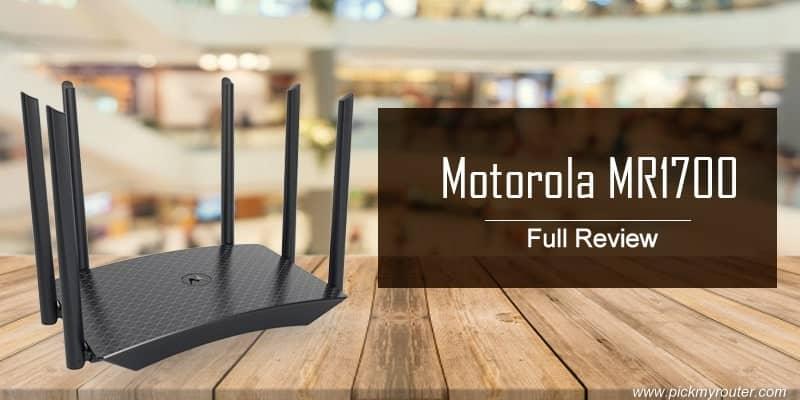 Motorola MR1700 AC1700 Router Full Review