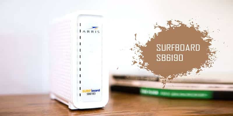 Arris surfboard SB6190 - Best Gaming Modem