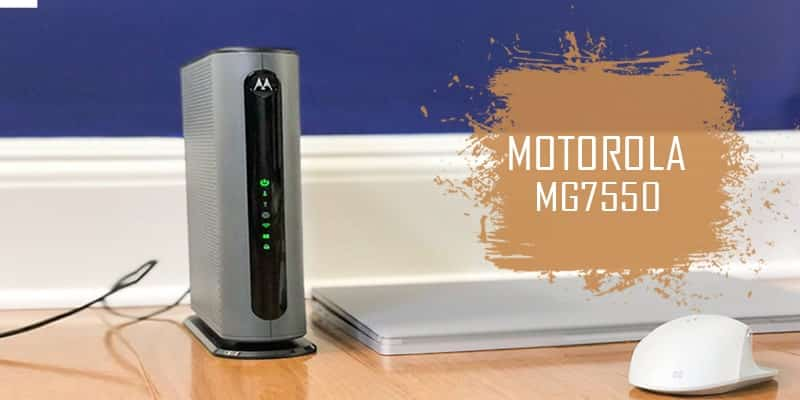 Motorola MG7550 - Best Modem-Router Combo