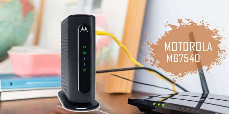 motoola MG7540 - Best Gaming Modems