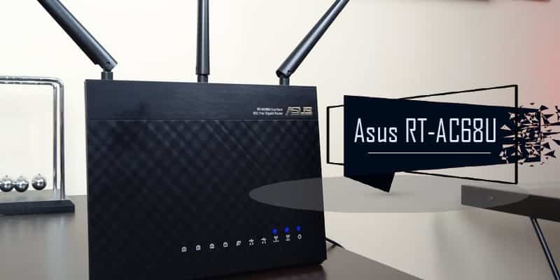 ASUS RT-AC68U AC1900 - DD-WRT Router