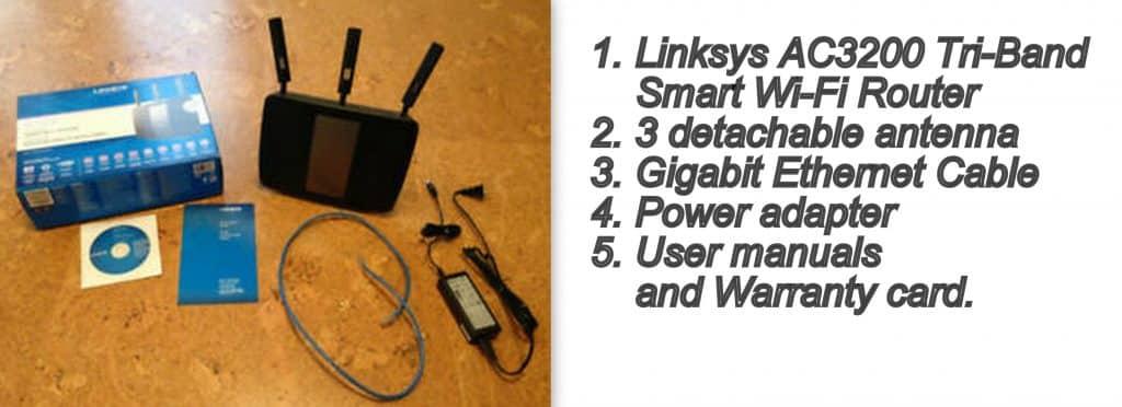 Linksys AC3200 (EA9200) unboxing