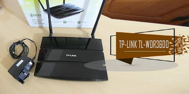 TP-Link TL-WDR3600 - DD-WRT Router