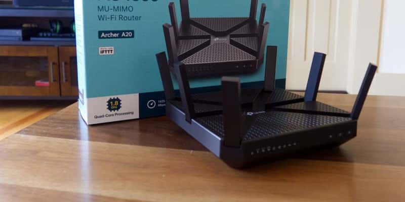 The Tp-Link Archer A20 AC4000 - best router for streaming