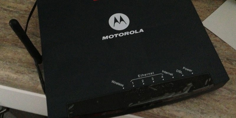 Motorola - best dsl modem router combos