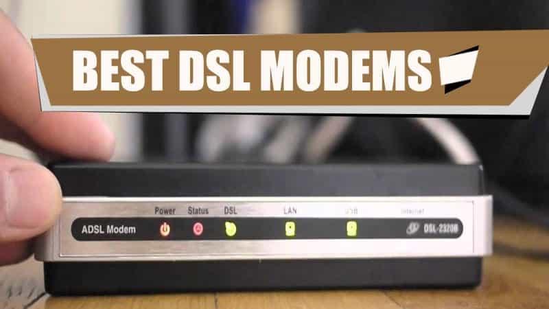 best dsl modems